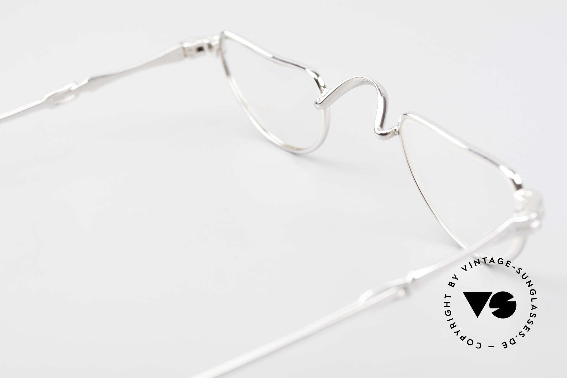 Lunor I 07 Telescopic Teleskop Brille Schiebebügel, sowie für ausziehbare Brillenbügel (= teleskopartig), Passend für Herren und Damen