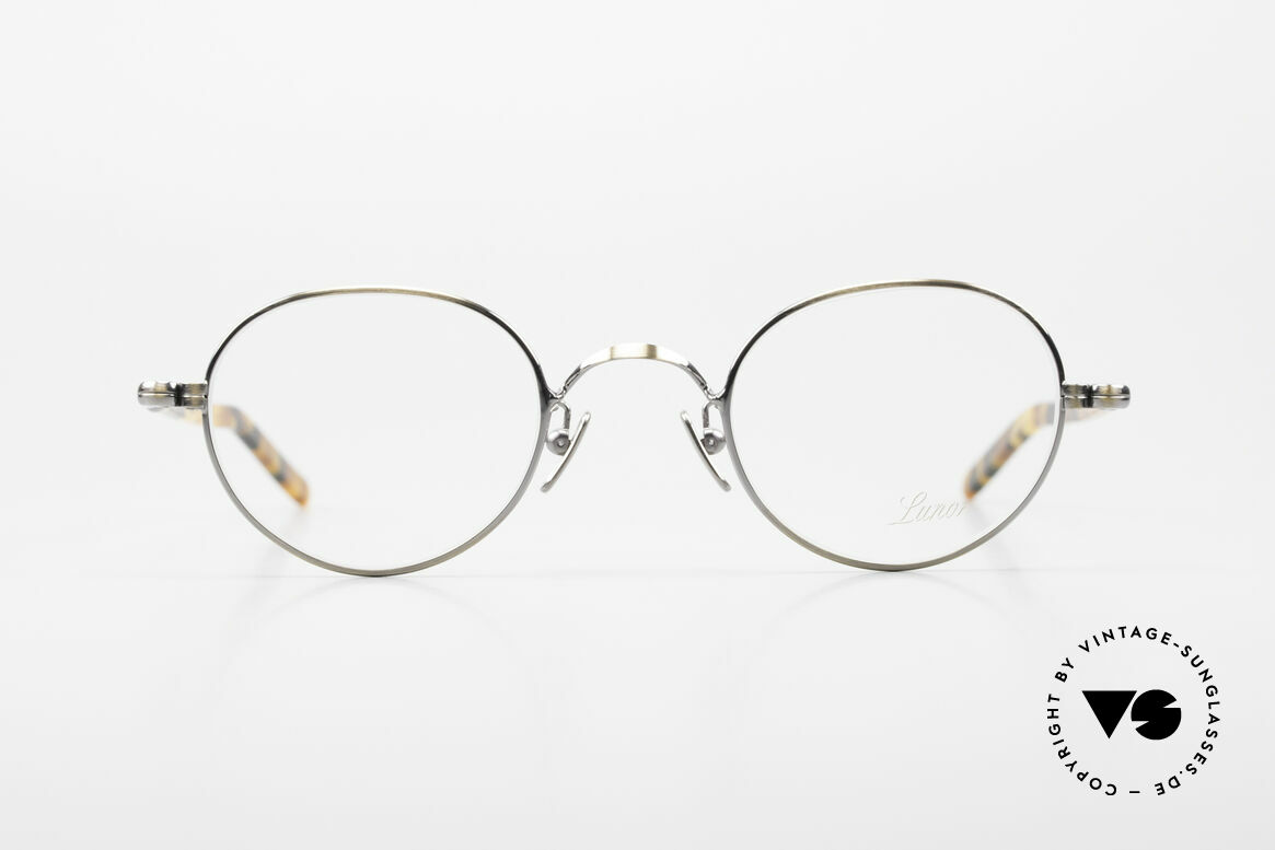 Lunor VA 108 Panto Lunor Brille Original, Lunor ist ehrliches Handwerk mit Liebe zum Detail, Passend für Herren und Damen