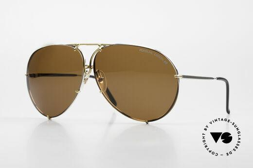 Porsche 5621 Übergroße 80er Sonnenbrille Details