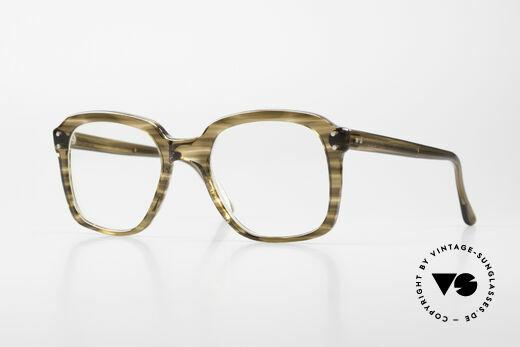 Metzler 449 Alte 70er Original Nerdbrille Details