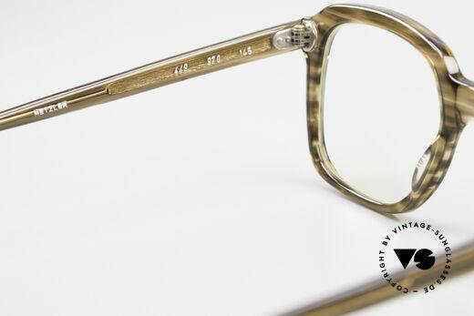 Metzler 449 Alte 70er Original Nerdbrille, KEINE RETRObrille, sondern ein altes Metzler Original, Passend für Herren