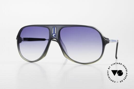 Carrera 5547 80er Herren Vintage Brille Details