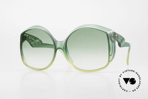 Christian Dior 2041 XXL 70er Damen Sonnenbrille Details