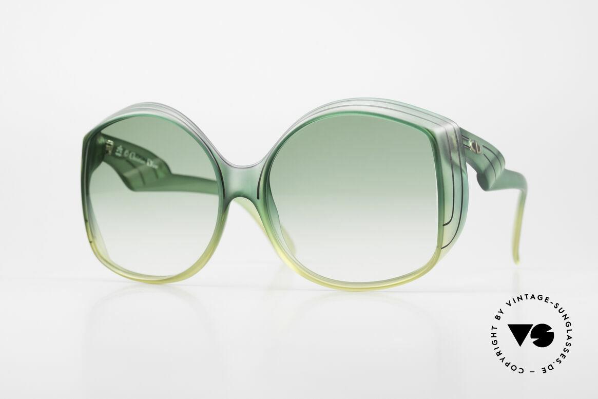 Christian Dior 2041 XXL 70er Damen Sonnenbrille, zauberhafte Dior Designersonnenbrille aus den 70ern, Passend für Damen