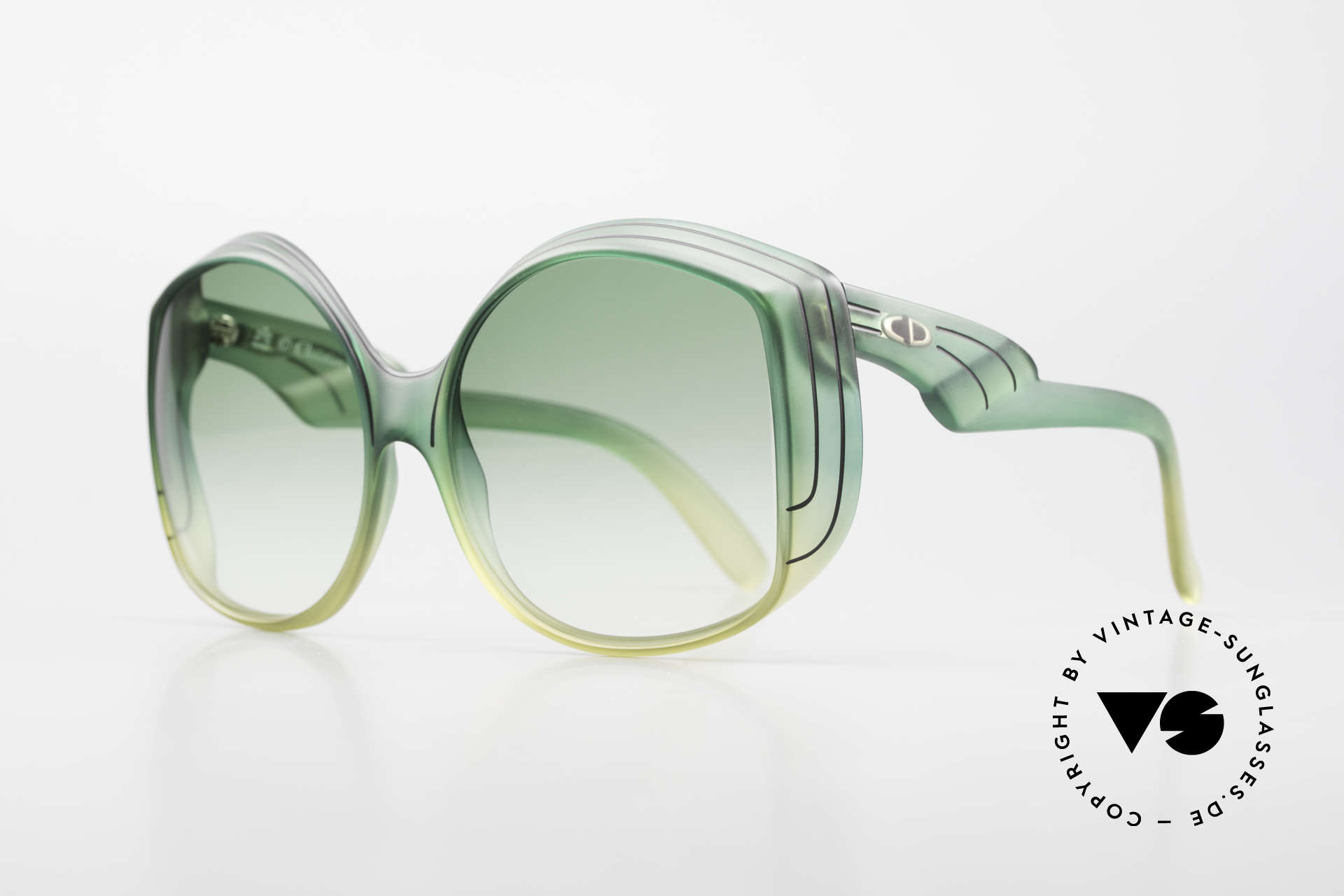 Christian Dior 2041 XXL 70er Damen Sonnenbrille, eine wahre Rarität und inzwischen ein Sammlerstück, Passend für Damen