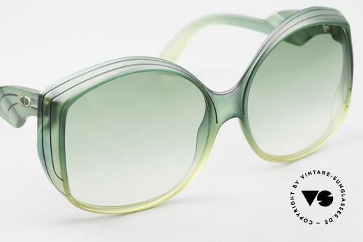 Christian Dior 2041 XXL 70er Damen Sonnenbrille, typische Farbgebung für die damalige Zeit; echt vintage, Passend für Damen