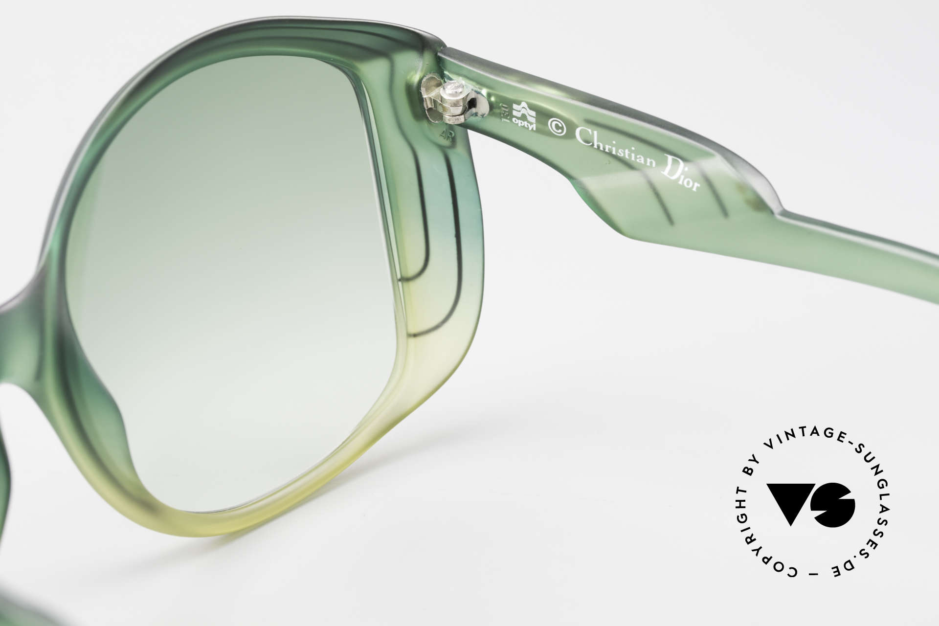 Christian Dior 2041 XXL 70er Damen Sonnenbrille, KEINE Retrobrille; 40 Jahre altes ungetragenes Unikat!, Passend für Damen