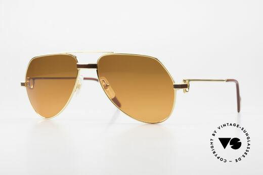 Cartier Vendome Laque - S Rare 80er Luxus Sonnenbrille Details