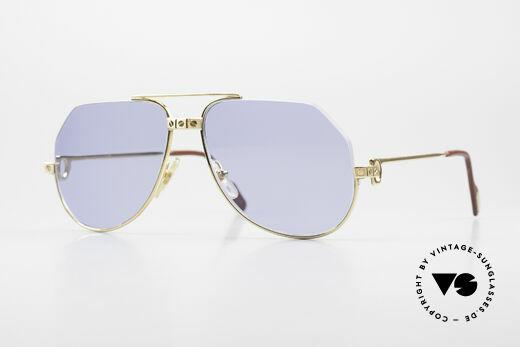 Cartier Vendome Santos - S Einzelstück Nylor Und Gold Details