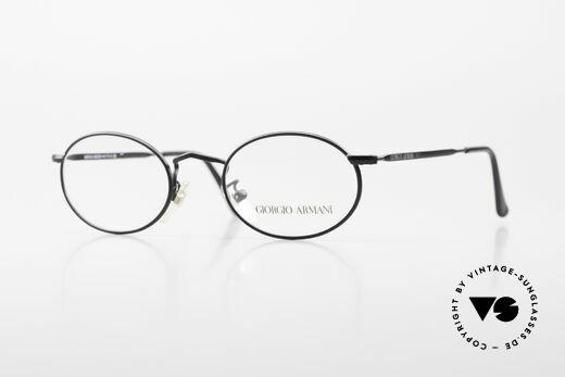 Giorgio Armani 131 Vintage Fassung Ovale Brille Details