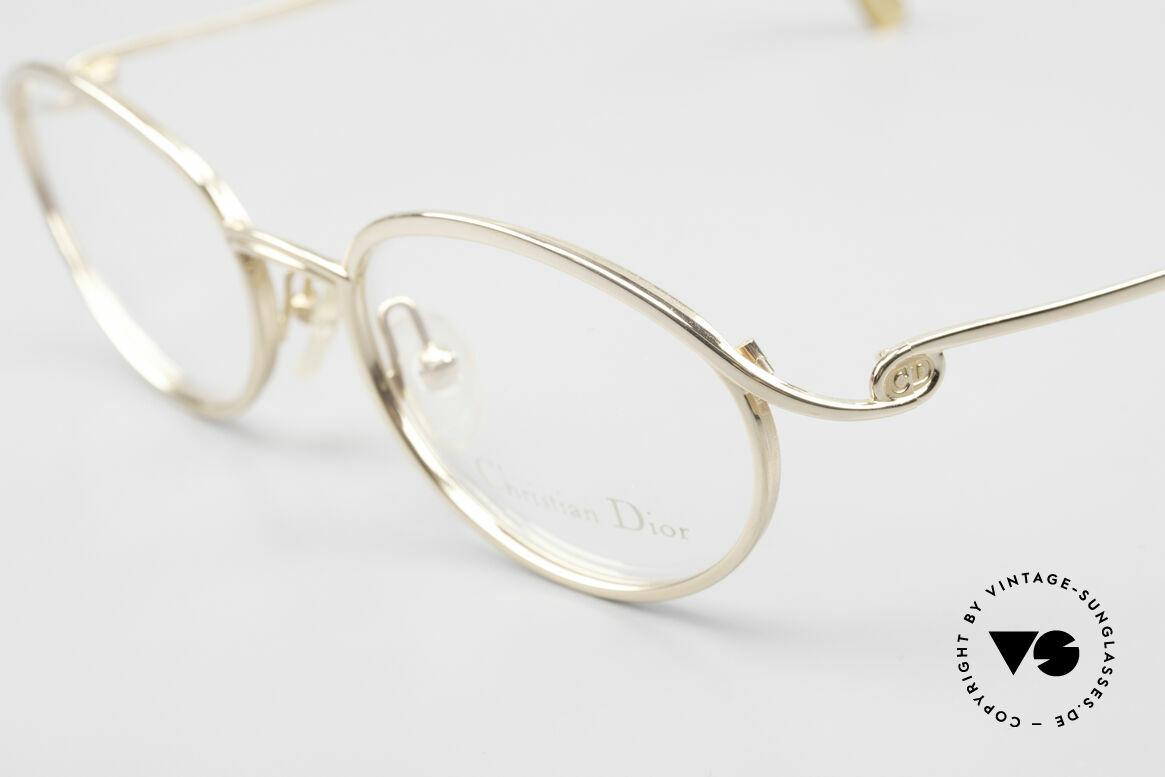 Christian Dior 2939 Damen Vintage Brille Vergoldet, ungetragen (wie alle unsere Dior Brillengestelle), Passend für Damen