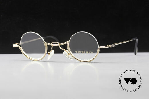 Tiffany T64 23K Gold Plated Luxusbrille Details