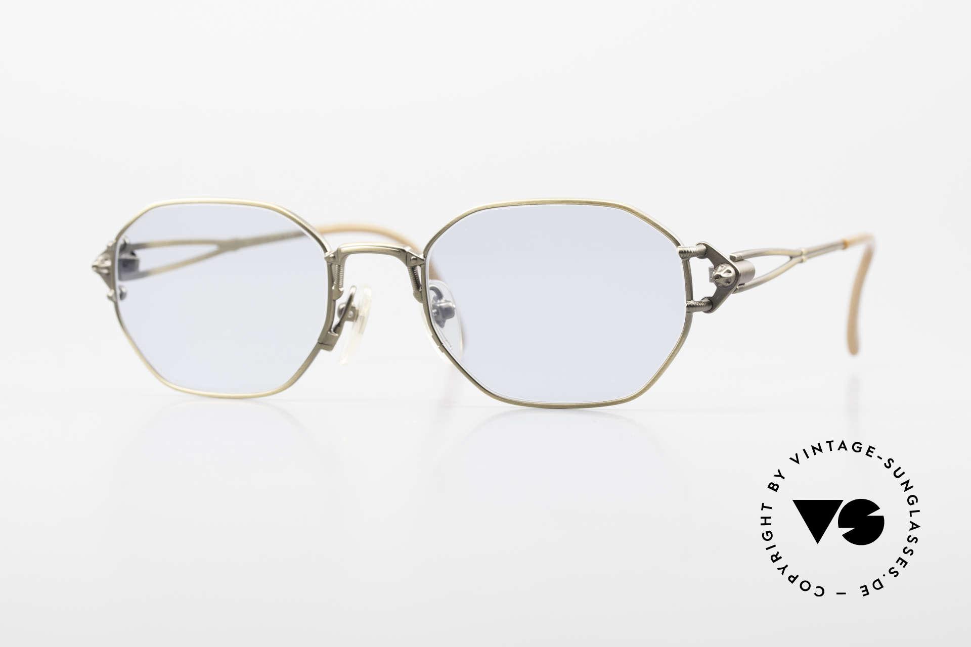 Jean Paul Gaultier 55-6106 Alte 90er Designer Sonnenbrille, kostbare Jean Paul Gaultier Sonnenbrille von ca. 1994, Passend für Herren und Damen
