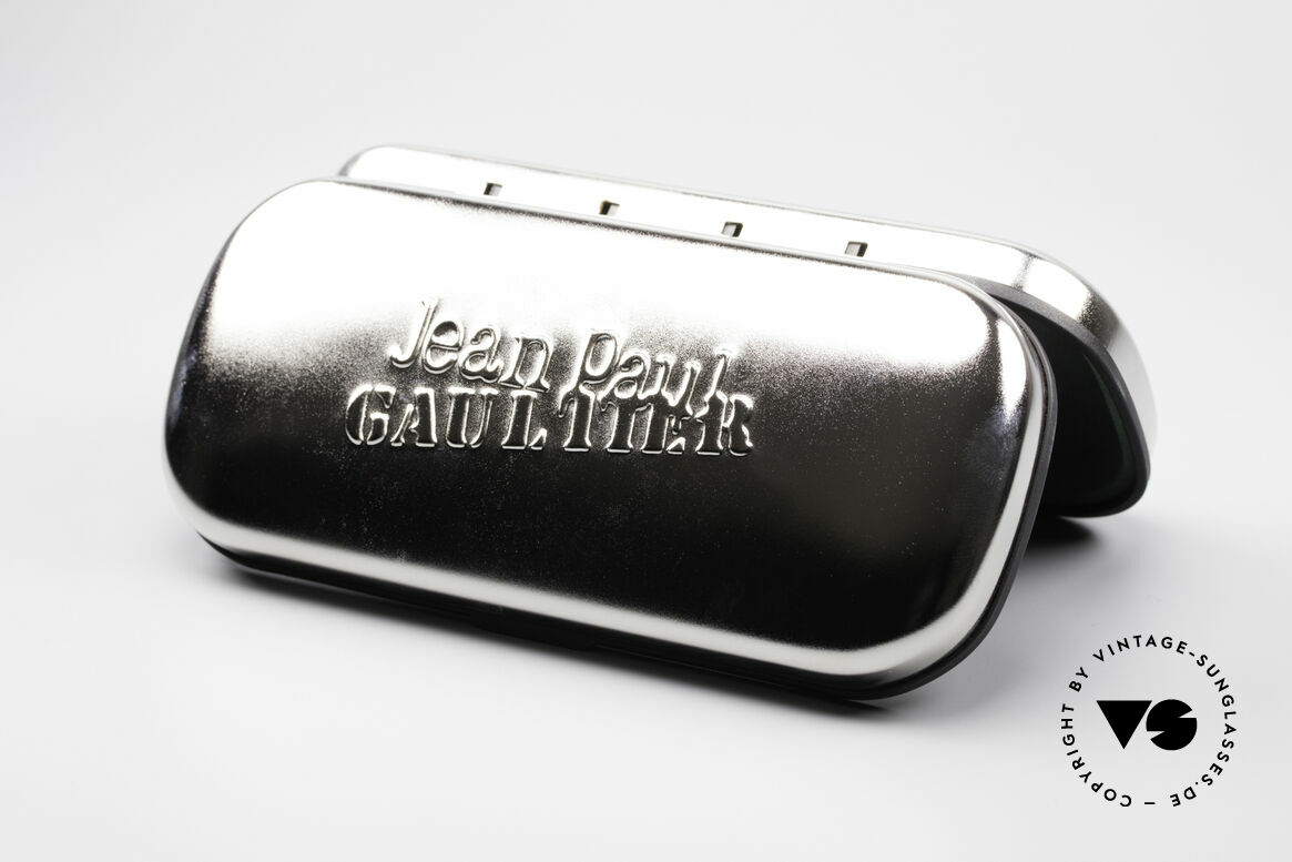 Jean Paul Gaultier 55-6106 Alte 90er Designer Sonnenbrille, Größe: small, Passend für Herren und Damen