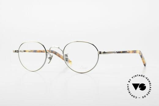 Lunor VA 107 Panto Stil Brille Antik Gold Details