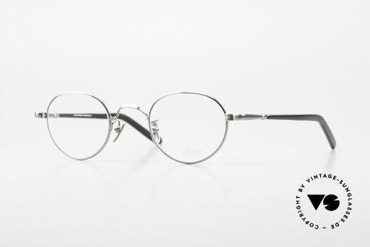 Lunor VA 107 Panto Stil Brille Antik Silber Details