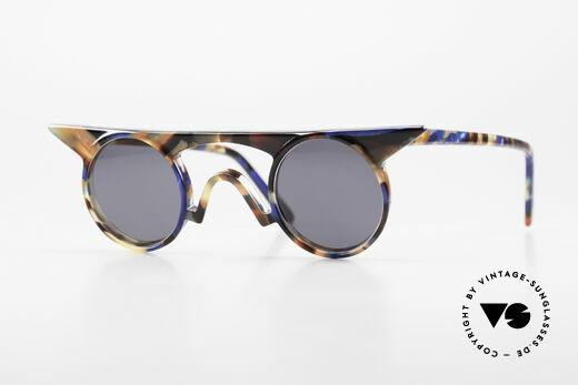 Design Maske Berlin Jason Kunstvolle Sonnenbrille 90er Details