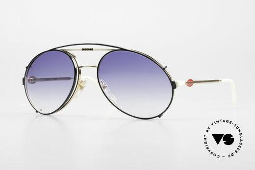 Bugatti 64319 80er Sonnenbrille Sonnenclip Details