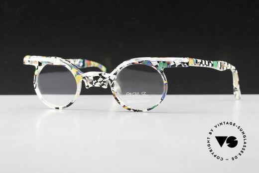 Axel S. Miracle Verrückte Vintage Brille Damen Details