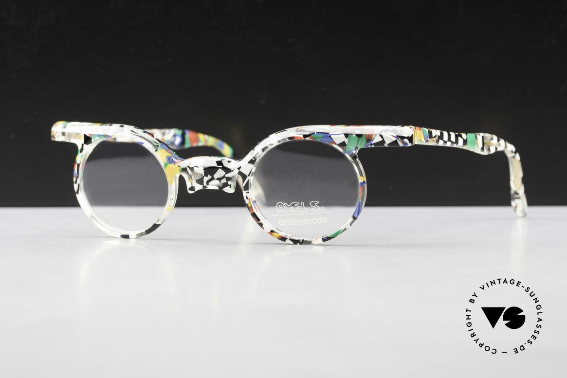 Axel S. Miracle Verrückte Vintage Brille Damen, kunstvolle vintage Brille; alles andere als Mainstream, Passend für Damen