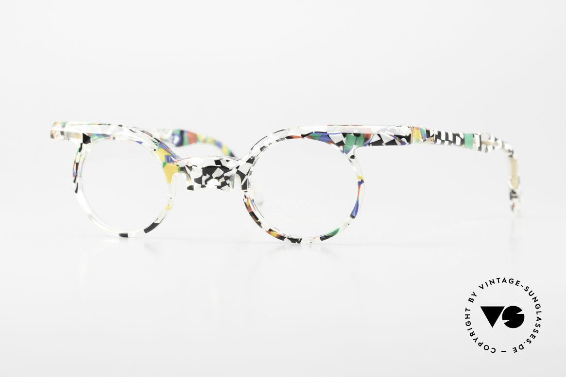 Axel S. Miracle Verrückte Vintage Brille Damen, gemacht für alle Individualisten und Charakter-Köpfe, Passend für Damen