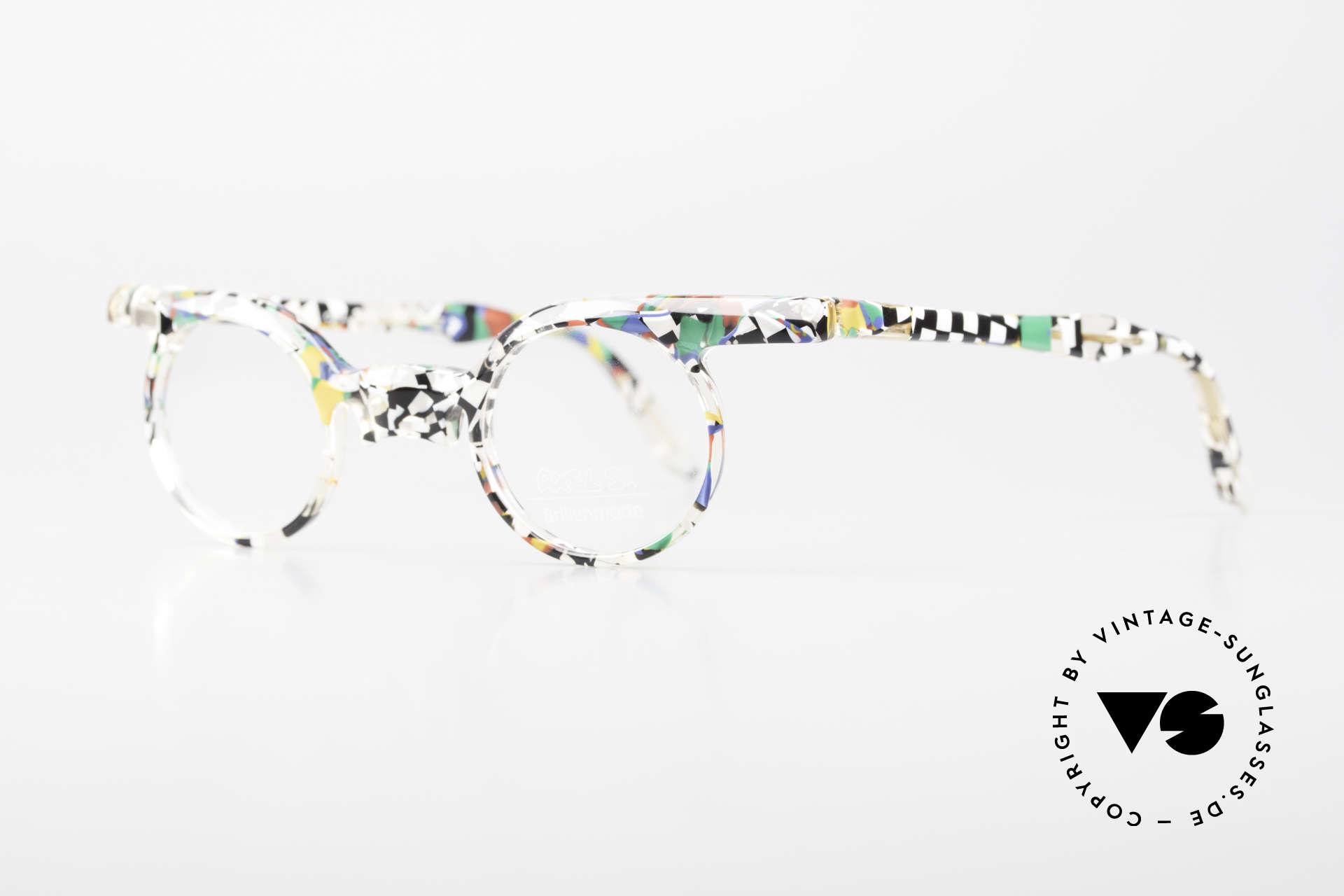Axel S. Miracle Verrückte Vintage Brille Damen, KEINE Retrobrille, sondern ein 1980er Jahre ORIGINAL, Passend für Damen