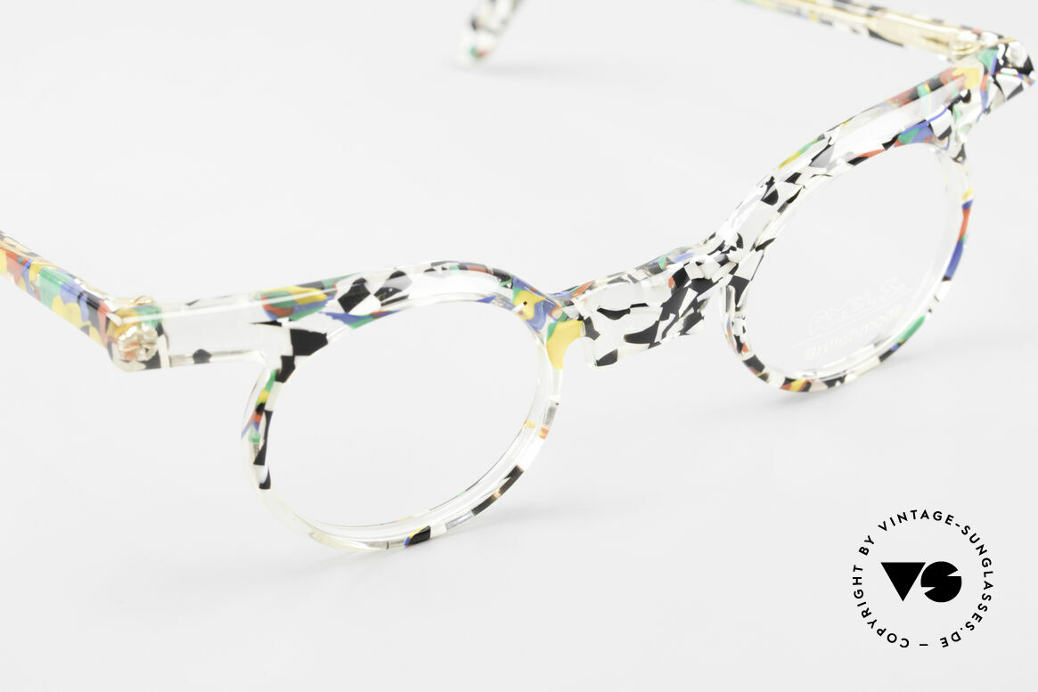 Axel S. Miracle Verrückte Vintage Brille Damen, Größe: small, Passend für Damen
