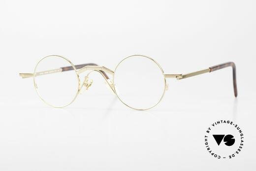 Christian Roth 2502 Runde 90er Brille Bauhaus Stil Details