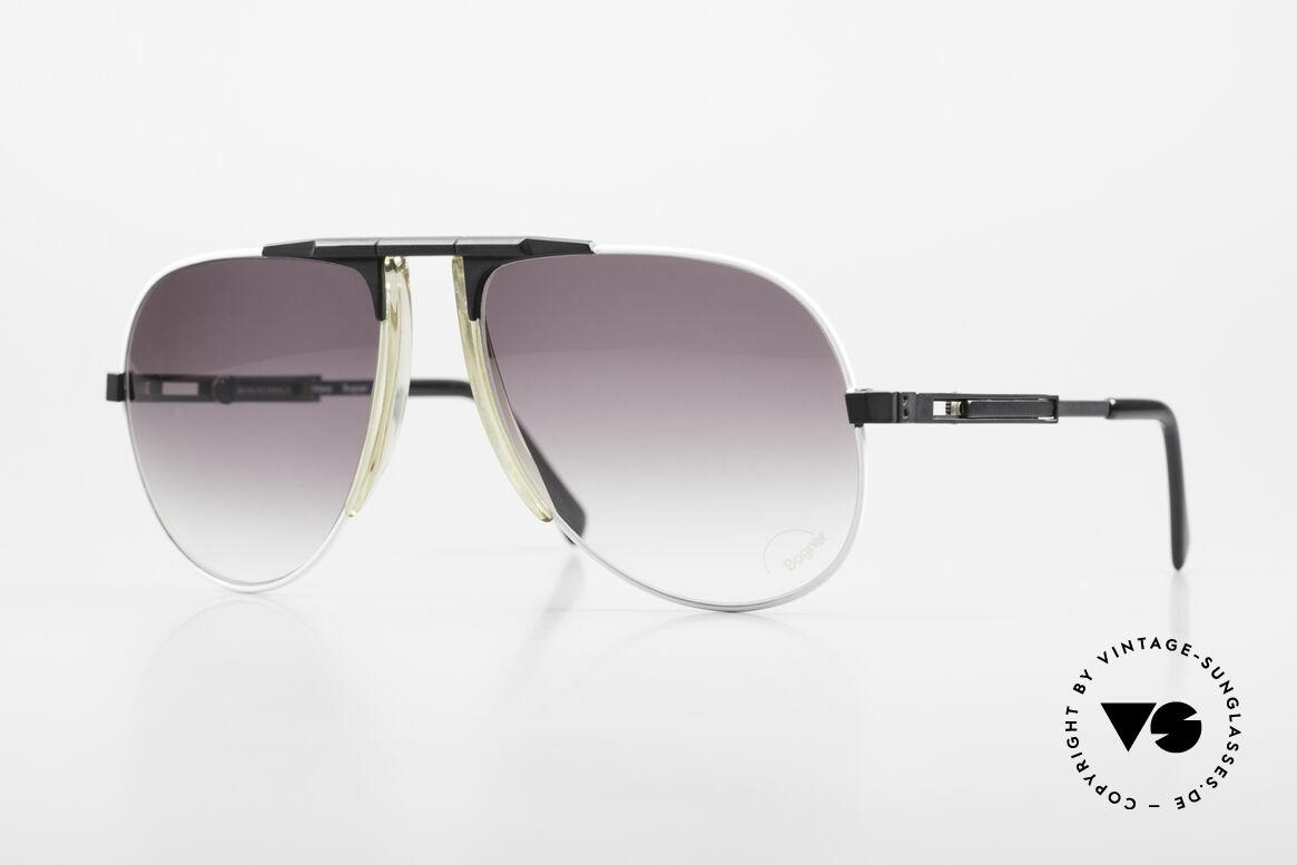 Willy Bogner 7011 80er Sport Sonnenbrille Pilot, vintage Sport-Sonnenbrille vom Ski-Ass Willy Bogner, Passend für Herren