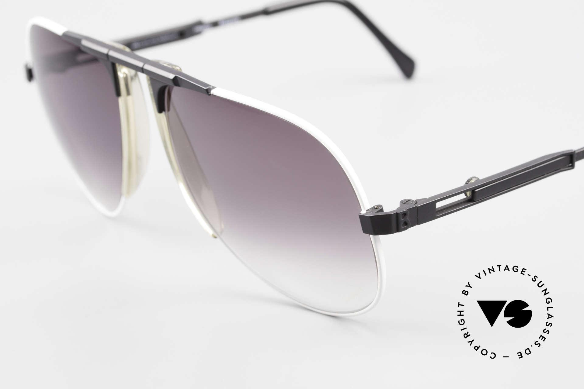 Willy Bogner 7011 80er Sport Sonnenbrille Pilot, 7011 = ähnlich der James Bond Bogner Brille Mod. 7003, Passend für Herren