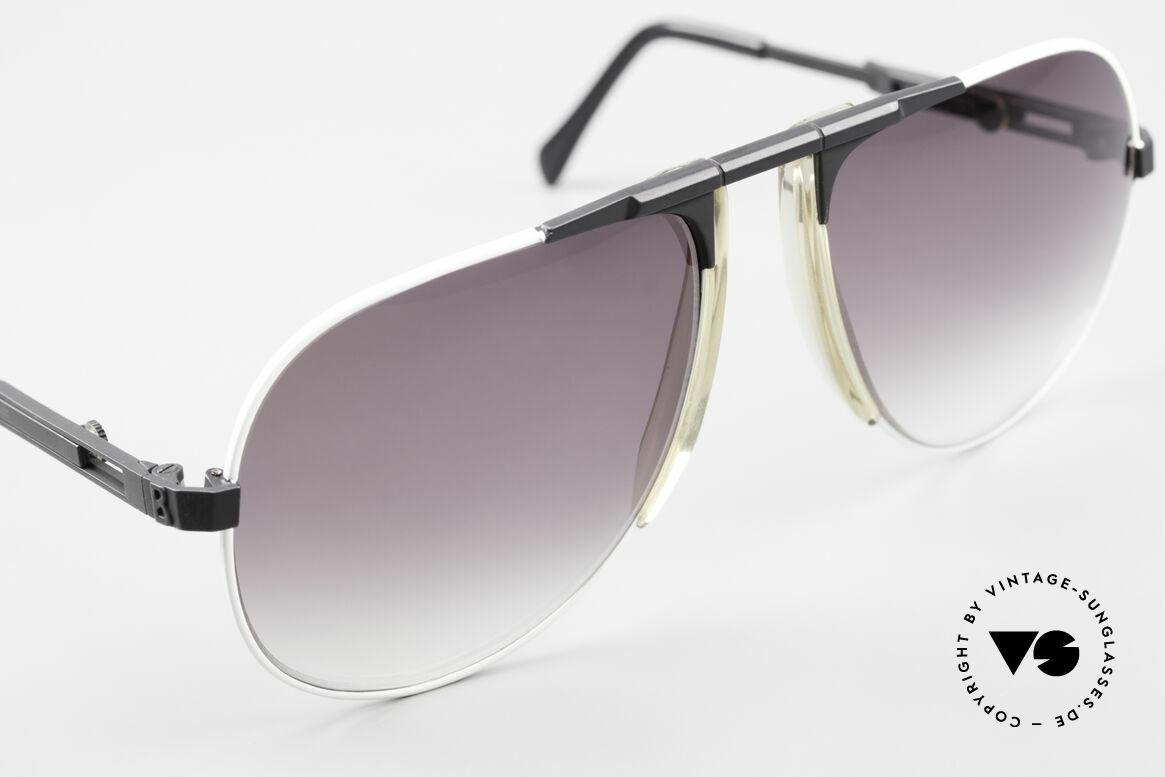 Willy Bogner 7011 80er Sport Sonnenbrille Pilot, ungetragen (wie alle unsere W. BOGNER Sonnenbrillen), Passend für Herren