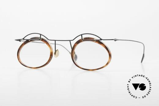 Paul Chiol 06 Kunstvolle Designerbrille 90er Details
