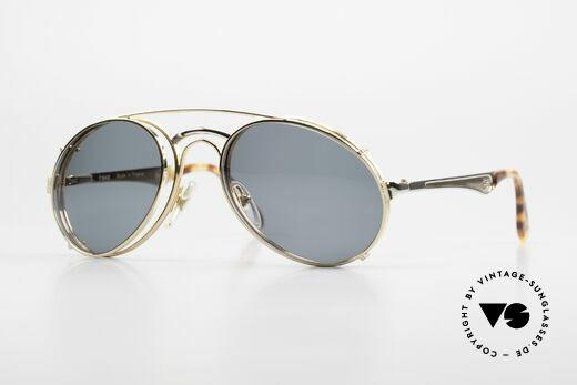 Bugatti 11948 Luxus Herrenbrille Mit Clip On Details