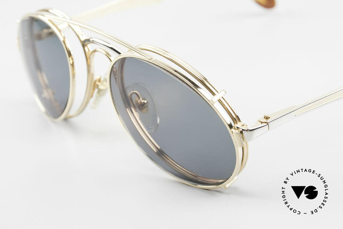 Bugatti 11948 Luxus Herrenbrille Mit Clip On, ungetragenes, sehr sehr edles Modell inkl. Etui, Passend für Herren
