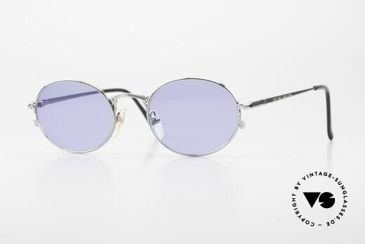 Jean Paul Gaultier 55-3181 Ovale 90er Brille Pure Titanium Details