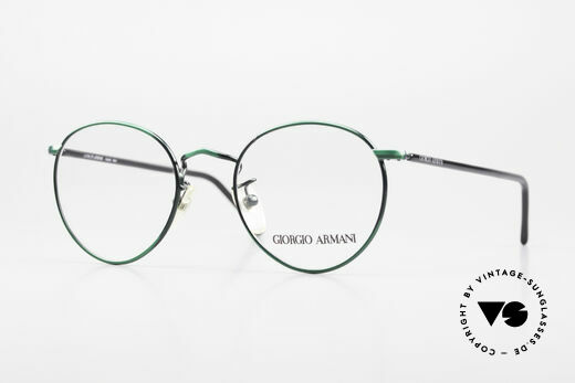 Giorgio Armani 138 Panto Brille Damen & Herren Details