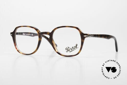 Persol 3142 Designerbrille Eckig Panto Details