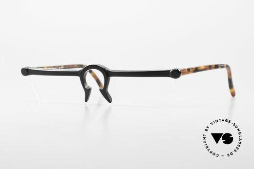 Design Maske Berlin Ethno 1 Kunstvolle 90er Vintage Brille Details