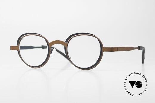 Theo Belgium Eye-Witness YD Designerbrille Damen & Herren Details