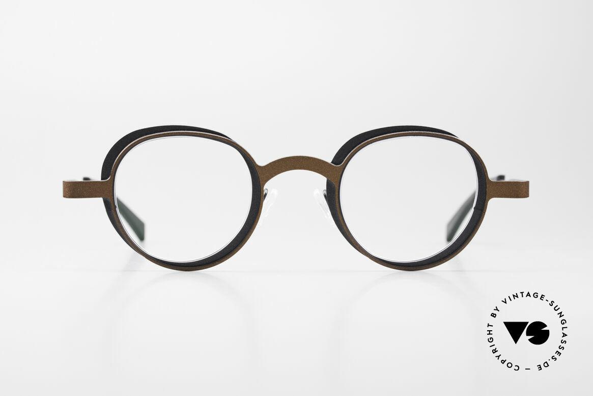 Theo Belgium Eye-Witness YD Designerbrille Damen & Herren, Theo Eye-Witness (Augenzeuge) Brille, Modell YD 293, Passend für Herren und Damen