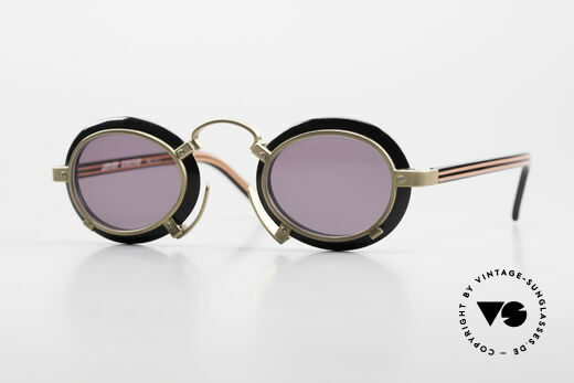 Jean Paul Gaultier 58-1273 90er Designer Sonnenbrille JPG Details