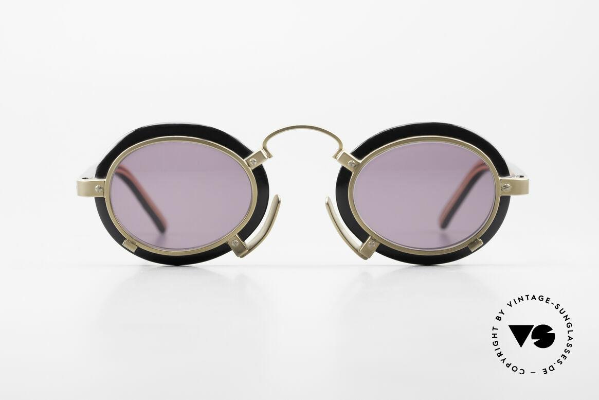 Jean Paul Gaultier 58-1273 90er Designer Sonnenbrille JPG, extravagante Jean P. Gaultier vintage Sonnenbrille, Passend für Herren und Damen