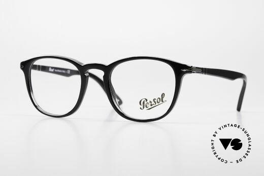 Persol 3143 Panto Designerbrille Unisex Details