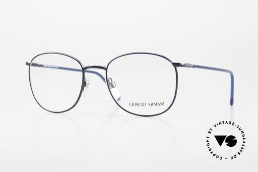 Giorgio Armani 1013 Alte Panto Stil Herrenbrille Details