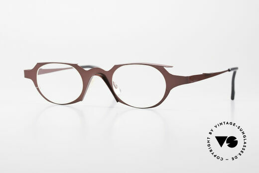 Theo Belgium Eye-Witness OB Damenbrille Avantgarde Style Details