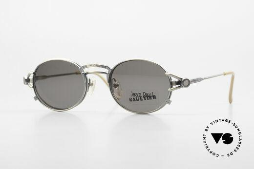 Jean Paul Gaultier 56-7110 Ovale 90er Vintage Brille Clip On Details