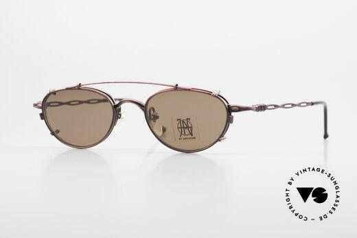 Jean Paul Gaultier 57-0006 Rare Vintage Brille 90er Clip On Details