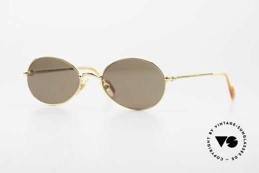 Cartier Saturne Ovale 90er Luxus Sonnenbrille Details