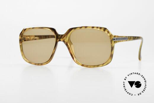 Dunhill 6001 80er Old School Sonnenbrille Details