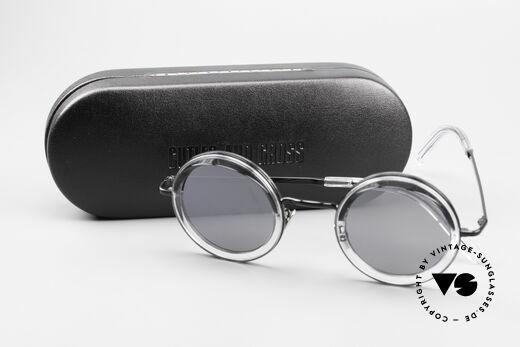 Cutler And Gross 1277 Runde Designer Sonnenbrille, ein Cutler & Gross ORIGINAL mit entsprechendem Etui, Passend für Herren und Damen